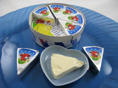 Image : Vache qui rit - Assiette de vache qui rit
