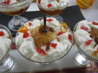Poires au cidre et sa crème fouettée - 10.2