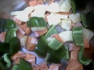 Brochettes de saumon à l'ananas - 5.2