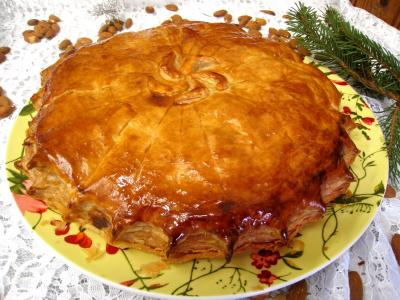 Image : recette Pithiviers aux pommes revisité