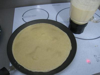 Crêpes de blé noir au lard - 4.2
