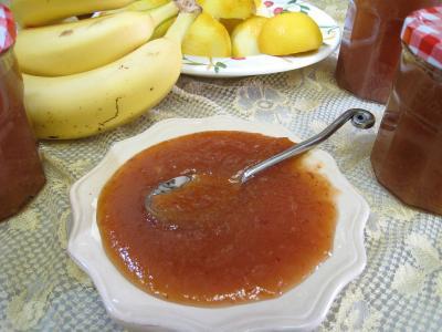 chutney : Coupelle de chutney aux citrons et aux fruits