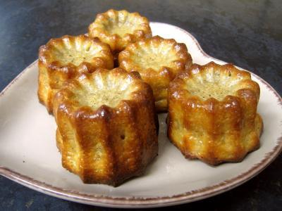Image : Cuisine bordelaise - Cannelés