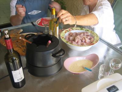 Pot à fondue