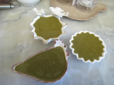 mâche : Sauce verte pour poisson