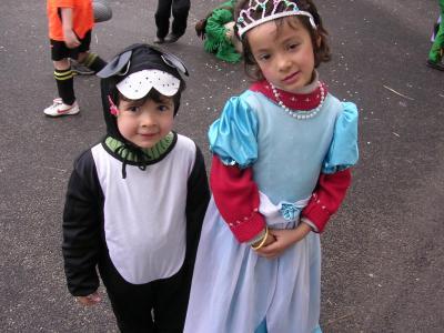 Image : Carnaval - Les enfants déguisés pour la fête du Carnaval