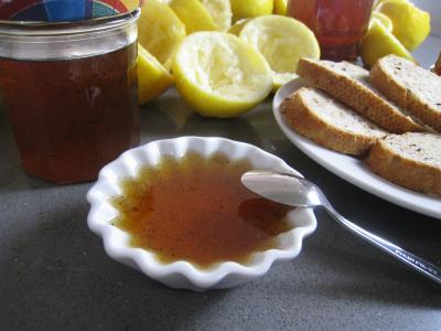 Recette Ramequin de gelée au citron et à la vanille