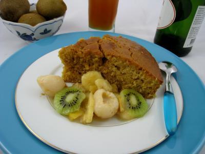 Image : Cuisine grecque - Gâteau au yaourt à la Grècque