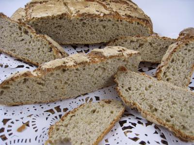 farine de châtaigne : Pain à la farine de châtaignes