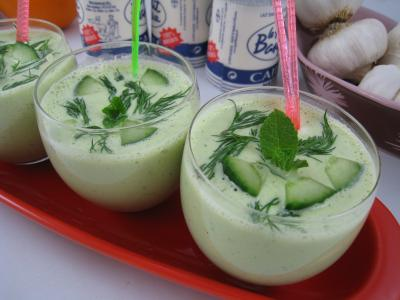 concombre au yaourt à la Grecque