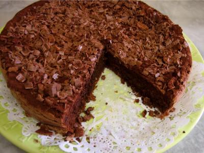 fécule de maïs : gâteau au chocolat