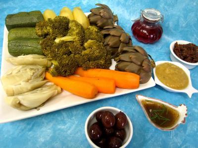 Recette Assortiment de légumes vapeur