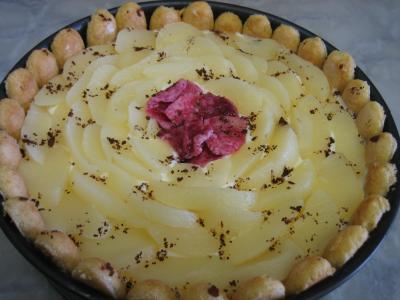 Recette Plat de mascarpone aux poires