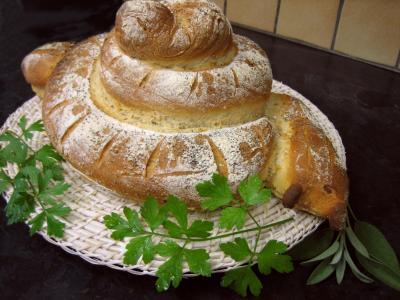 Image : Cuisine slave - Pain à l'ail