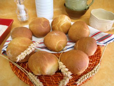 Petits pains à l'anglaise