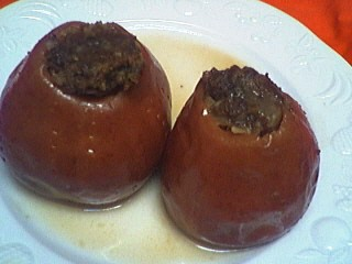 Image : Pomme d'api - Pommes farcies