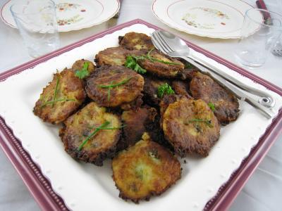Beignets de pommes de terre la r unionnaise supertoinette la cuisine facile - Cuisine reunionnaise recette ...