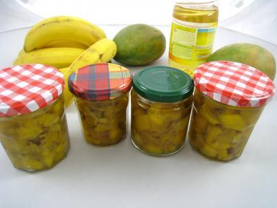 Image : Cuisine mauricienne - Achards aux mangues à la mauricienne