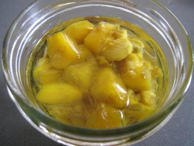 Achards aux mangues