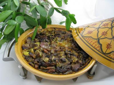 Recette Tajine aux restes de gigot façon marocaine