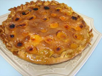 Image : Tarte aux abricots pour diabétiques