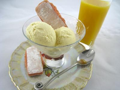 édulcorant : Coupe de glace à la vanille pour diabétique