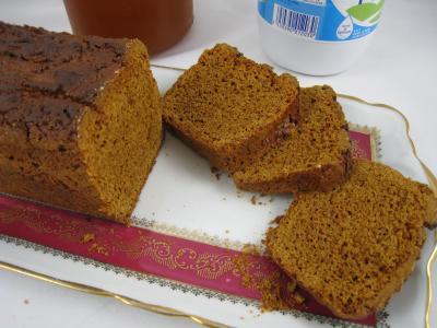Image : Pain d'épices - Une assiette de pain d'épices