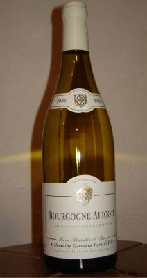 vin blanc aligoté