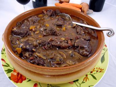 Photo : Boeuf bourguignon