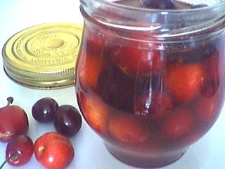 Image : Bocal de cerises au vinaigre