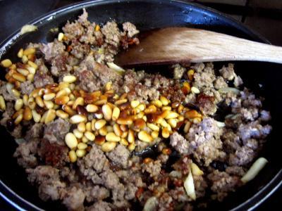 Aubergines farcies fa on libanaise supertoinette la - Cuisine libanaise aubergine ...