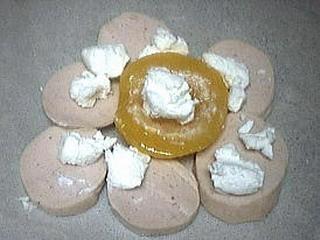 Aumônières d'abricots au boudin blanc - 2.2