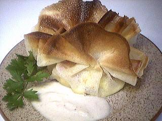 Image : Aumônière - Aumônière de pommes de terre