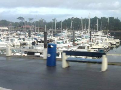 Image : Cuisine landaise - Photo du port de Capbreton