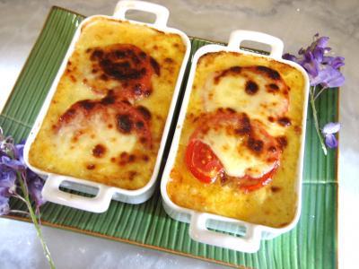 maïs doux : Cassolettes de blancs de poulet et sa purée de maïs