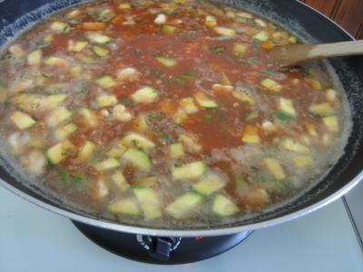 Photo : Une soupe au pistou à la niçoise