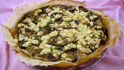 Recette Tarte de brick aux courgettes