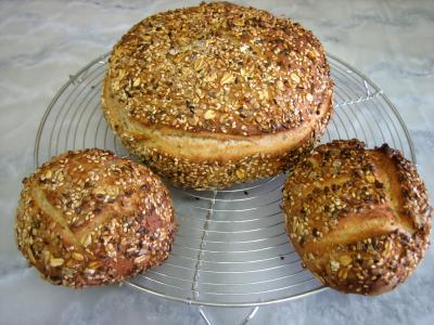 Image : Vitamine B1 - Boules de petits pains aux céréales