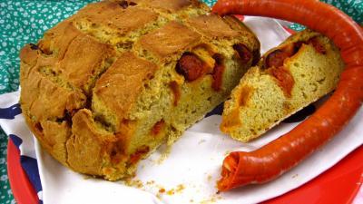 Image : Cuisine du Portugal - Pain au chorizo