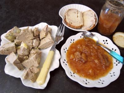 Recette Assiette de chutney aux bananes et aux figues