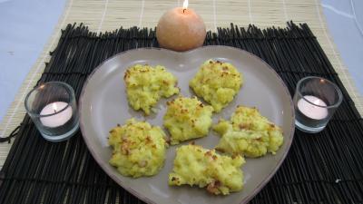Image : Assiette d'hérissons de pommes de terre