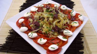 gésier confit : Salade Pique-nique
