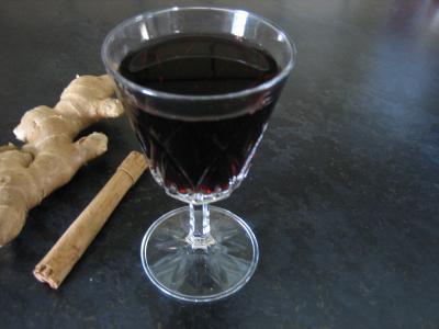 Recette Verre de vin aux épices
