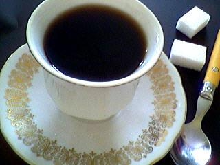 Image : Tasse de café à l'armagnac