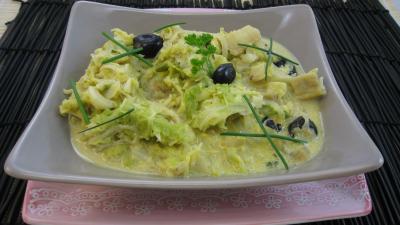 Image : recette Chou à la moutarde
