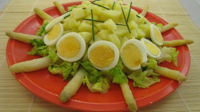 Image : Assiette de salade Argenteuil