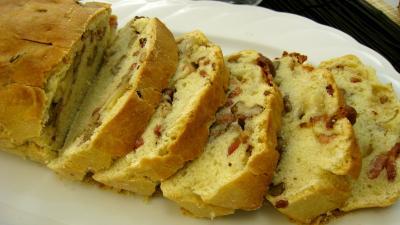 Recette Tranches de cake aux noix