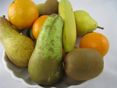 Photo : Plateau de fruits et de vitamines