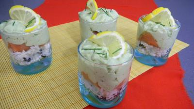 Image : Cuisine mexicaine - Verrines de guacamole