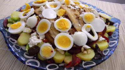 Image : Salade de pommes de terre et merlan